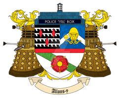 Doctor Who Coat of Arms by Kona12