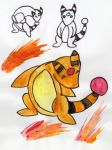 Ampharos Concept by jagged66