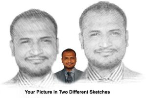 2 Sketched Pictures by zamir