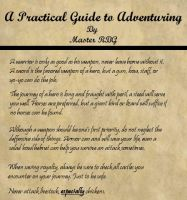 Guide To Adventuring by MasterRBG