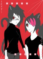 Coool Cats by xXDeadlyPersonaXx