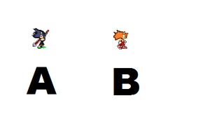 A Or B for new fan character sprite Sheet by DukeDN