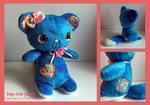 arrietta - tea party pal plush. /sold by tiny-tea-party