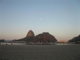End of Afternoon in Rio de Janeiro. by Crisnanegab