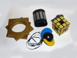N Pokemon Cosplay Accessories by sugee7