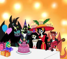 Happy Day of the Dead! by LadyAnaconda