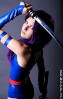 The Psylocke by JeanneKilljoy