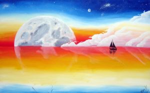 Sail to the Moon by Subsonicboom
