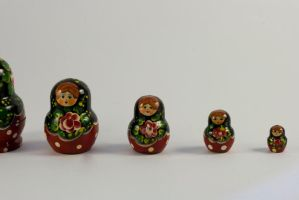 Russian Dolls 3 by joannastar-stock