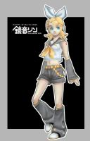 Kagamine Rin by Athey