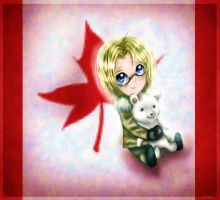 Chibi Canada by Honeysucle10