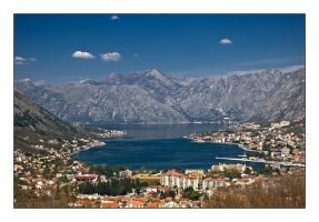Kotor bay by Grofica