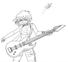 AWAKE - Raine Guitar by KuraraSilfo