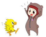 Chocobos are adorable! by SteffieSilva