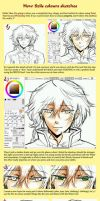 How Szils colours sketches by Amarevia