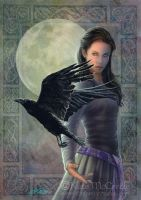 Celtic Raven by leelastarsky