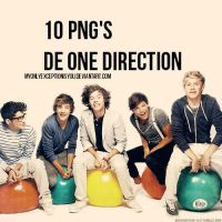 PACK PNG ONE DIRECTION 001 by myonlyexceptionisyou