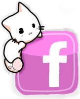 Cat Facebook Logo by Cupida
