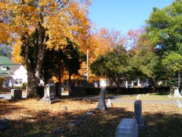 Autumn Cemetery 12 by DKD-Stock