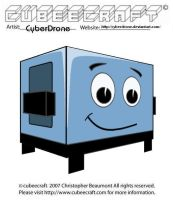 Cubeecraft- BraveLittleToaster by CyberDrone