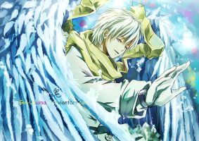 Dramatical Murder-Clear Ocean Angel by Gin-Uzumaki