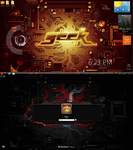 Geek desktop by LazyLaza