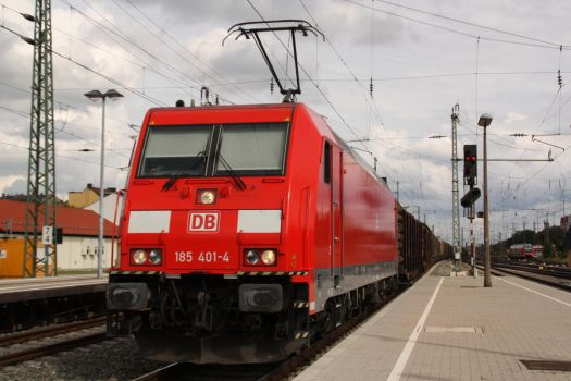 Mixed freight in Fuerth by Budeltier