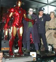 Hot-Toys - Super Heroes by Mechanic-Star
