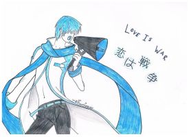 Kaito Shion: Love is War by basedFabio