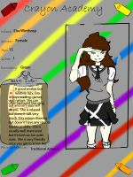 Crayon Academy Application: Eira by PuzzleLeafs