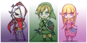 Legend of Zelda: Skyward Sword by Cayys