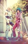 Saint Seiya: Hyoga and Shun by ferpsf