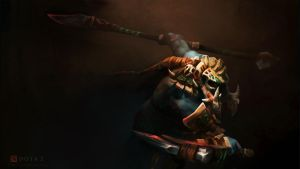 Huskar Wallpaper Dota 2 by AC44