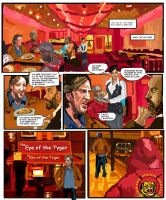 Gene Hunt Issue 1 page 1 by FuzzChile