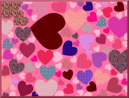 Lots of Hearts for Valentines by WDWParksGal-Stock