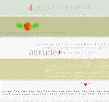 4 large textures by two2moooon