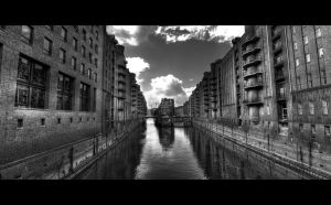 SpeicherCity HDR bw by mtribal