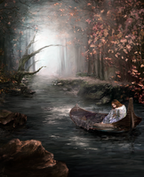 Lady of Shalott by dessavk