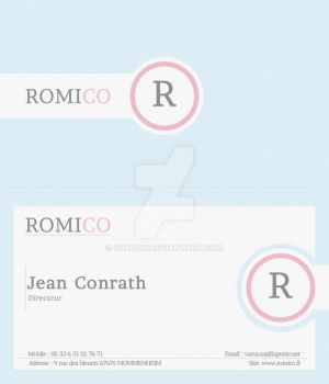 ROMICO Business Card by Fnayou