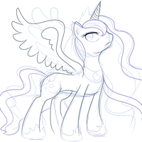 .:WIP:. Ruler of Starry Nights by SEGAMew