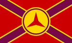 Spanish International Brigades Alt Flag by BullMoose1912