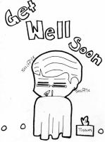 Get Well Soon by PaulLuvr