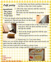 puff pastry recipecard by xDianna