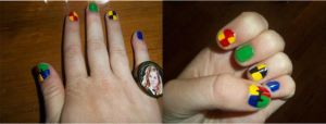 Harry Potter Nails by HermioneFrost