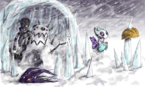 Challenging the Blizzard_Kurai by nutJT