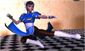ChunLi Action pose by Gustvoc