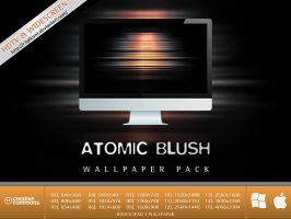 Atomic Blush Wallpaper Pack by FuckOffffff