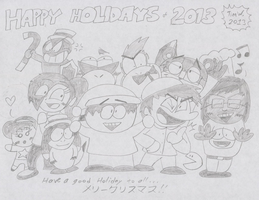 Happy Holidays of 2013 by T95Master