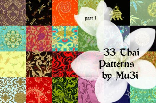 33 Thai Patterns by mu3i