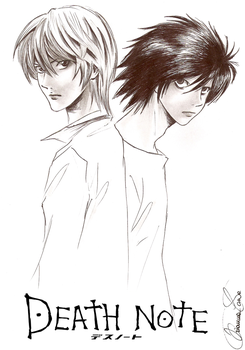 Death Note_ Light VS L by AcchanChangmin